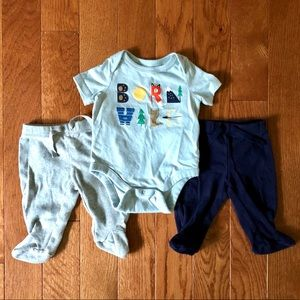 "Baby Gap ""Born Wild"" Set"